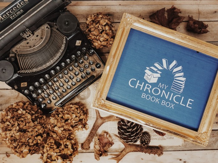 My Chronicles Book Box: Unboxing & Review.