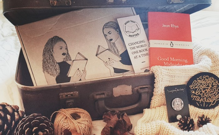 Unboxing: Books that Matter Book Box, the feminist book subscription box.