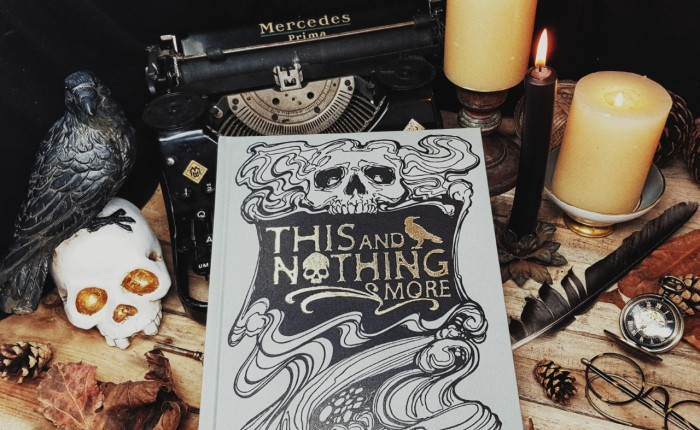 Book Review: 'This & Nothing More' a collection of Edgar Allan Poe's work by Ethereal Vision Publishing & Illustrator Matt Hughes.